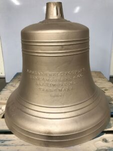Process of restoring a cracked bell